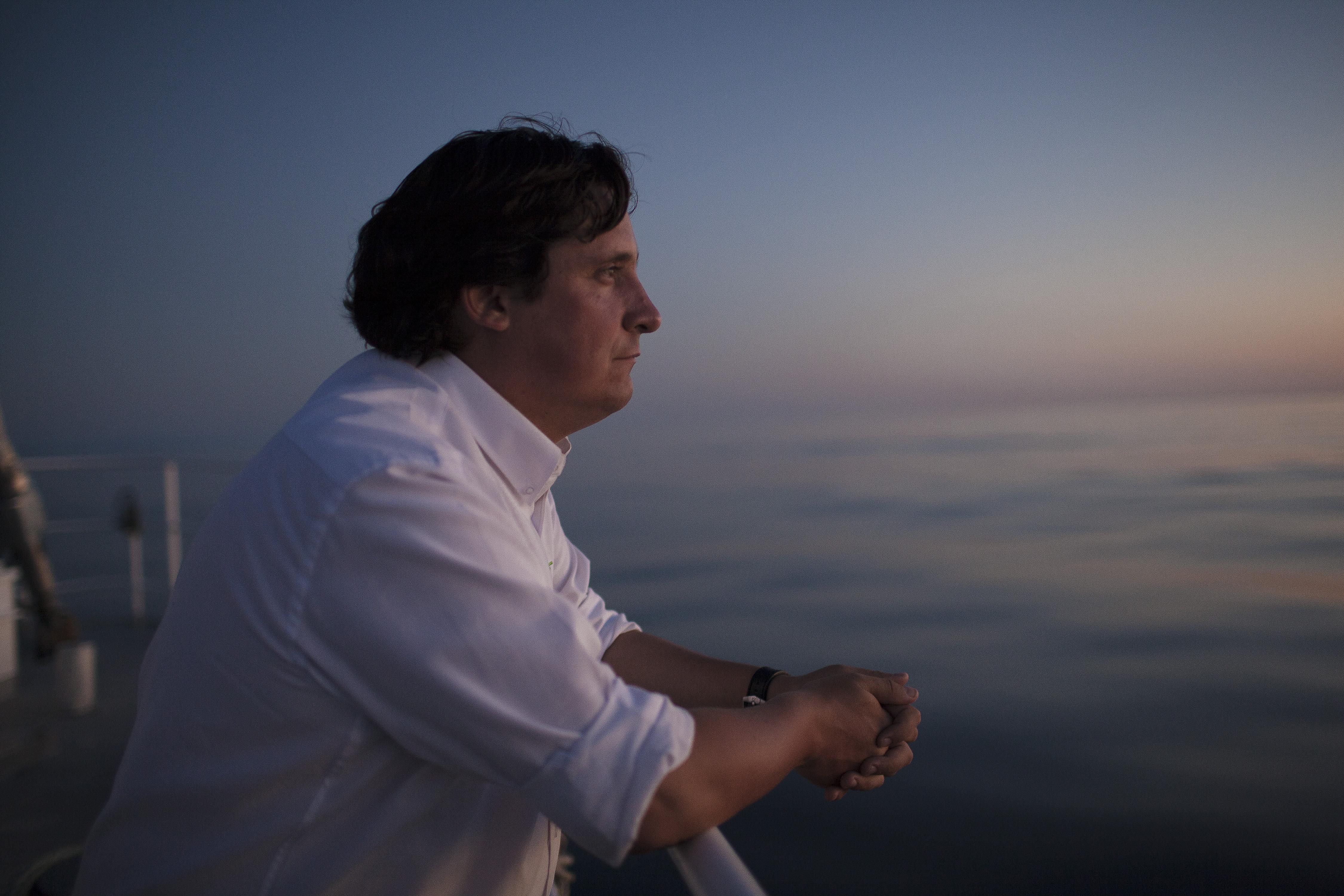 """Matías Asún: """"Estamos a punto de necesitar dos planetas para vivir"""""""