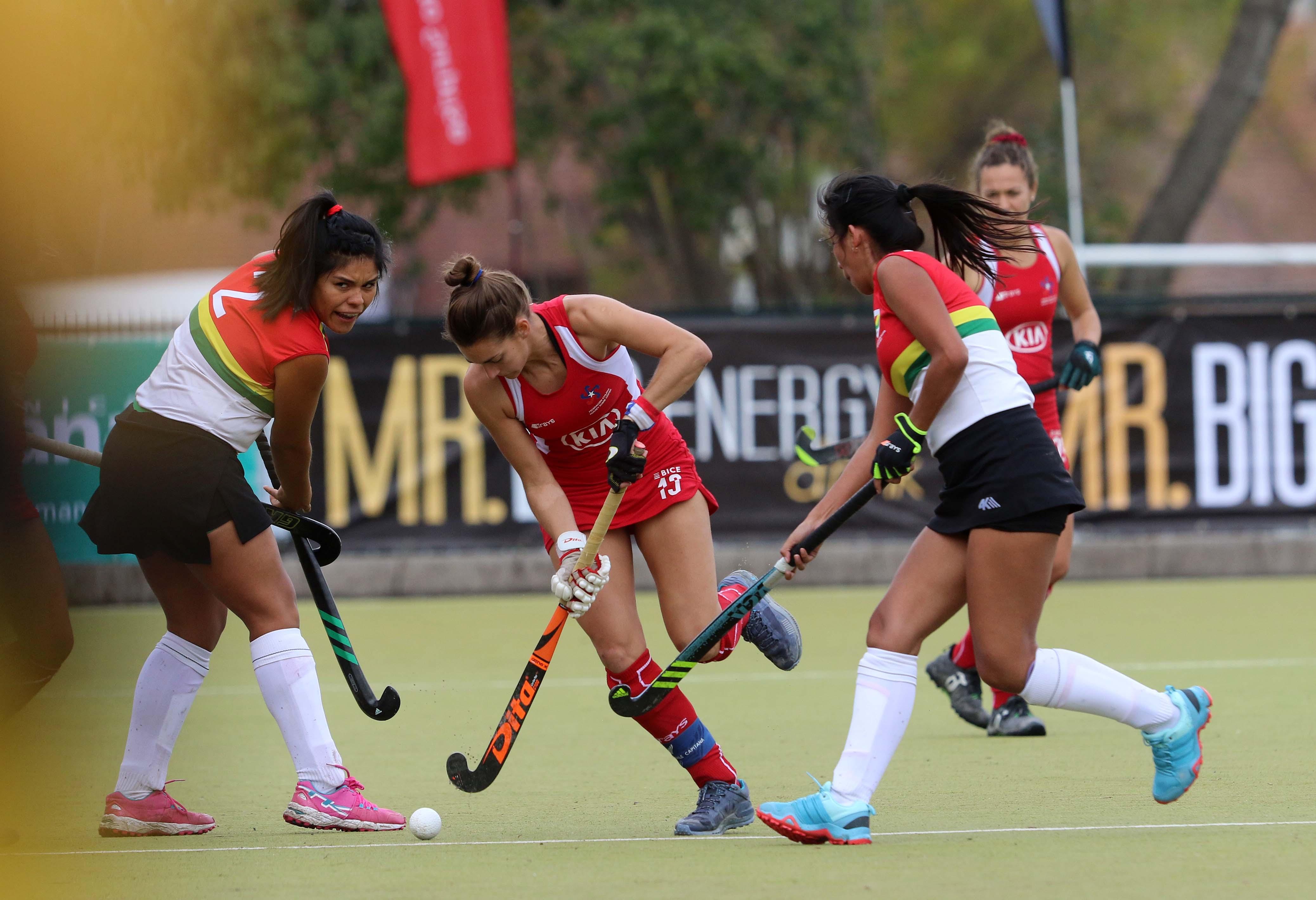"""Camila Caram: """"El hockey chileno está en un momento de crecimiento"""""""
