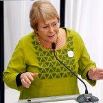 """Michelle Bachelet: """"Nadie tiene dudas que estoy por el Apruebo"""""""
